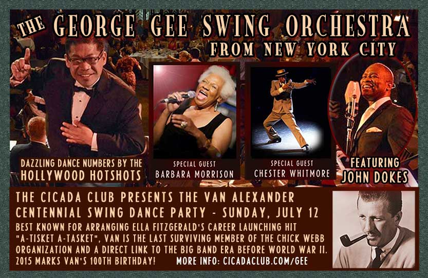 The George Gee Swing Orchestra at the Cicada Club