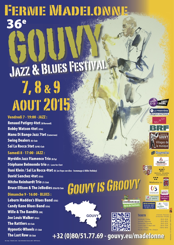Gouvy Jazz Festival Program