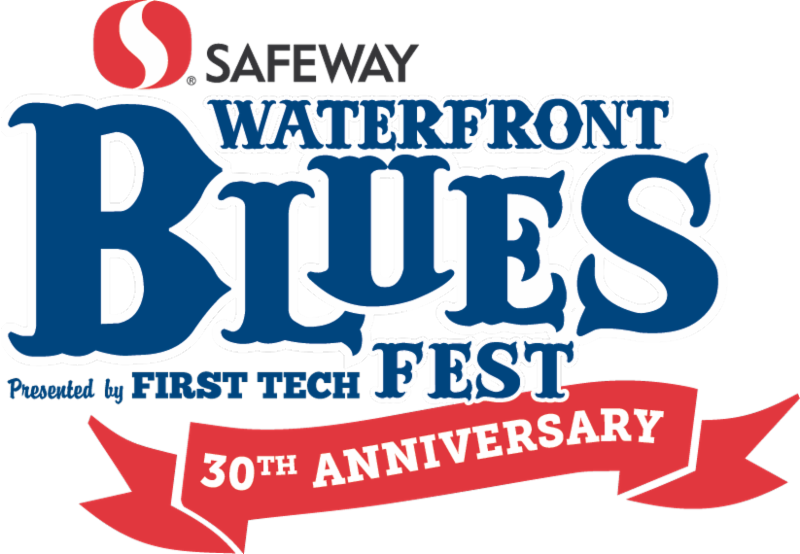 Waterfront Blues Festival Logo