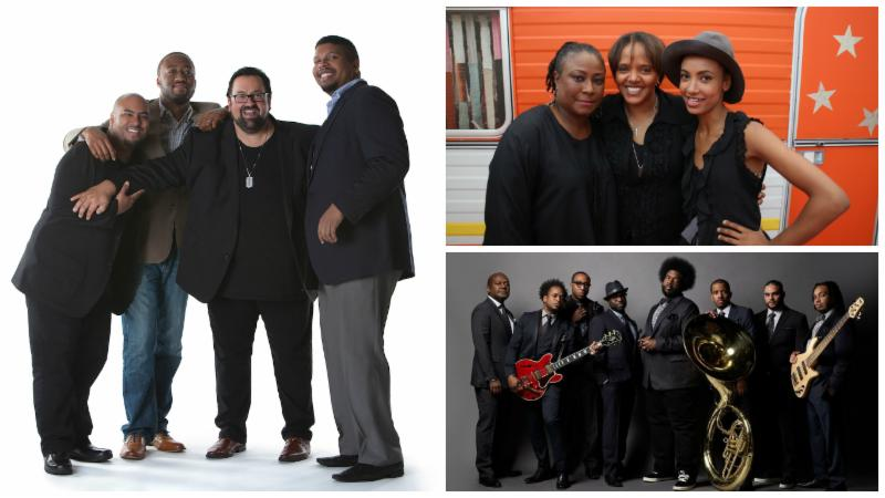Right: Joey DeFrancesco + The People Left (top to bottom): Geri Allen, Terri Lyne Carrington, Esperanza Spalding; The Roots