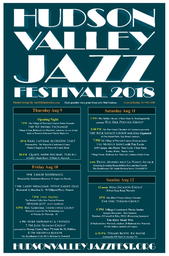 2018 Hudson Valley Jazz Festival