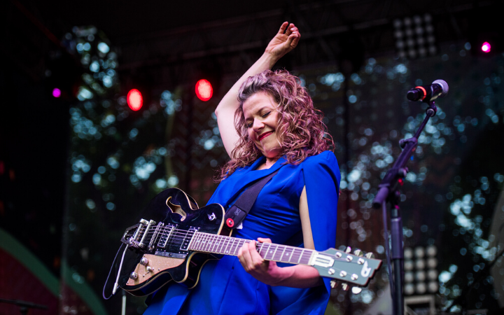 Alexis Normand/ Rosie & the Riveters, 2019 Festival, Photo by Matt Braden Photo