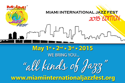 Miami International Jazz Festival 2015 poster