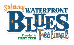 Safeway Waterfront Blues Festival logo
