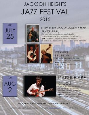 Jackson Heights Jazz Festival