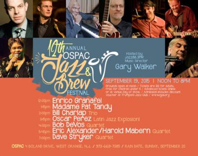 The 12th Annual OSPAC Jazz and Brew Festival