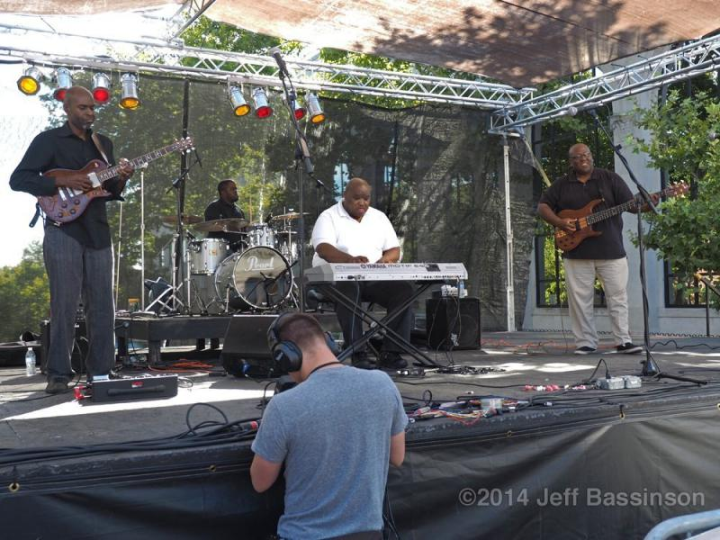 Good 4 The Soul grooves at the 2014 Capital Jazzfest.